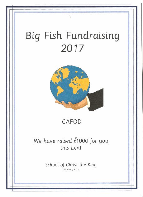Christ the King Primary School fundraise for CAFOD https://t.co/dckjdip4wq https://t.co/OHVL3UzjLA