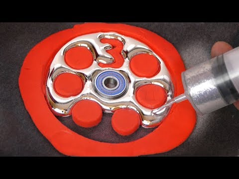 DIY Gallium Fidget Spinner