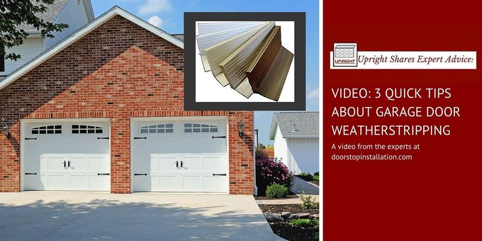 Video: 3 Quick Tips About Garage Door Weatherstripping