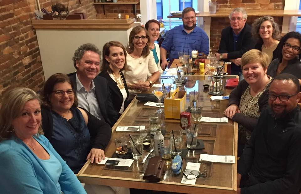 Had a nice pre-symposium dinner in Frankfort. Now looking forward to great papers and discussions tomorrow at Old State Capitol. @KyHistSoc https://t.co/hp8HF47ioJ