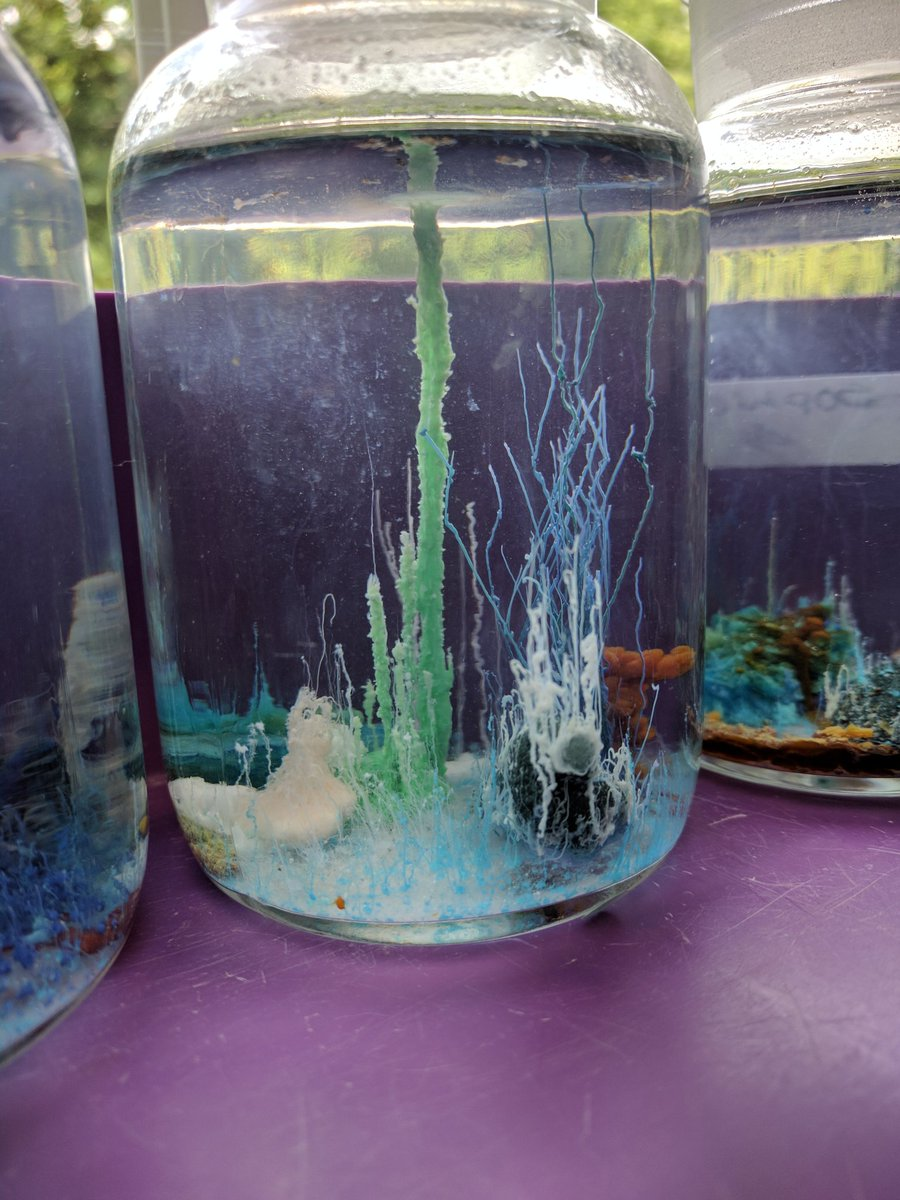 gordons science on twitter making a crystal garden httpstcorapqkbcjsw roysocchem chemistryreacts rsc_eic chemistry gordonsscience - Crystal Garden