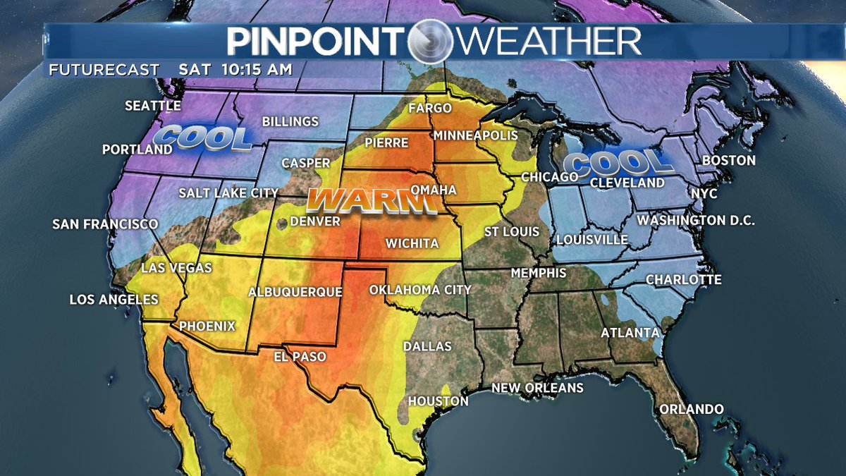 We have some hot temps headed to Colorado this weekend! Are you ready for 90 degree temps!? #cowx #poolweather <br>http://pic.twitter.com/wYOrW63g28