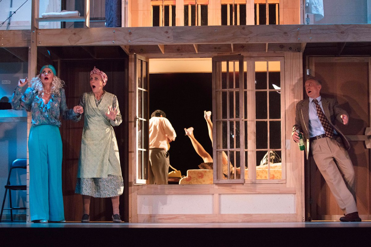 Image result for noises off qpac playhouse theatre
