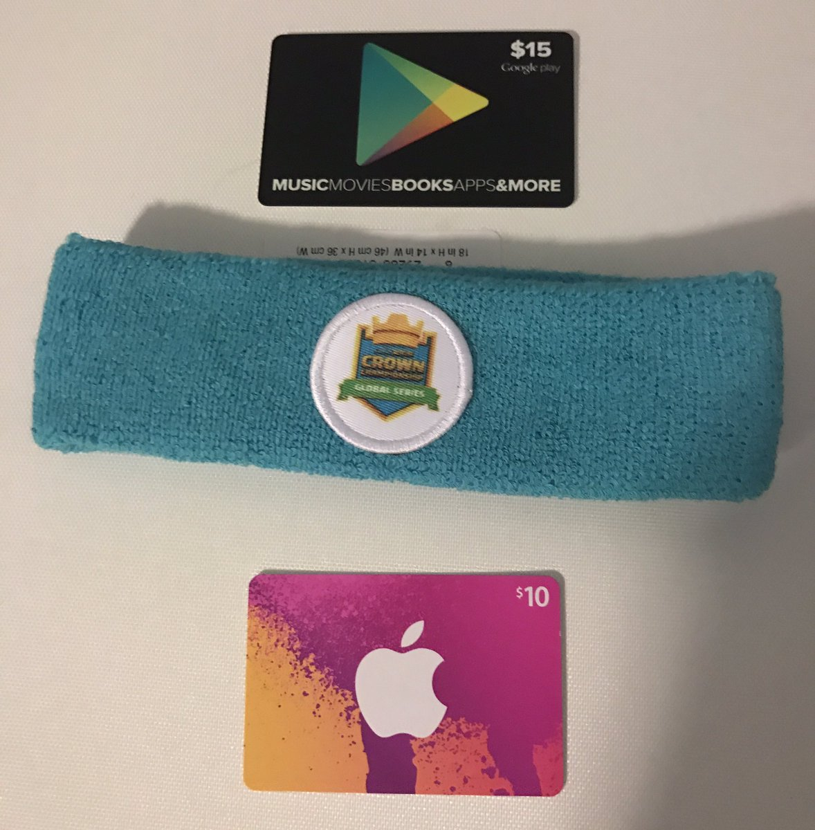 Giveaway time!! Winner's choice! $10 iTunes $15 GooglePlay or official CCGS headband (shipped worldwide) - RT & Follow to enter :)