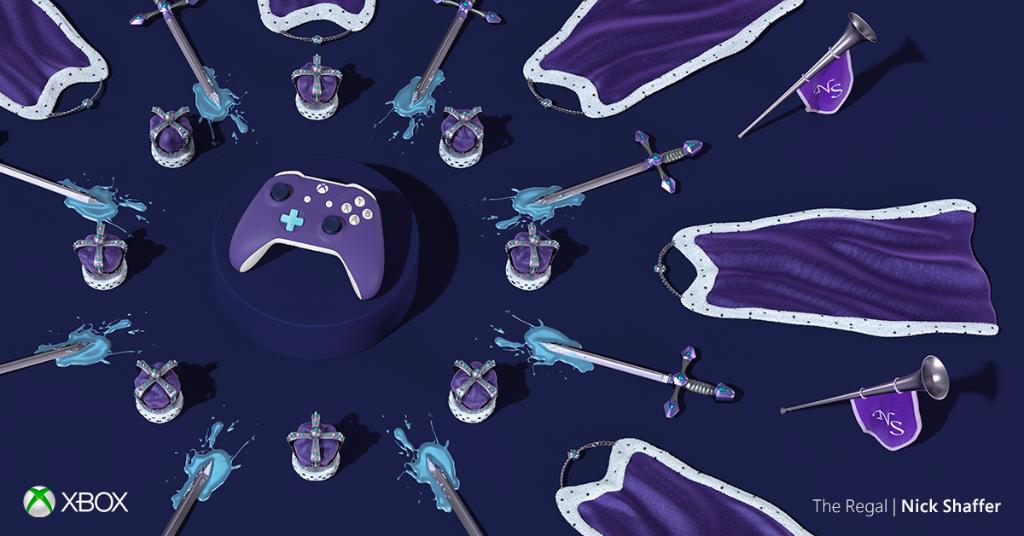 All hail The Regal—a courtly creation by Nick Shaffer: https://t.co/O5HZQcpcLt #XboxDesignLab