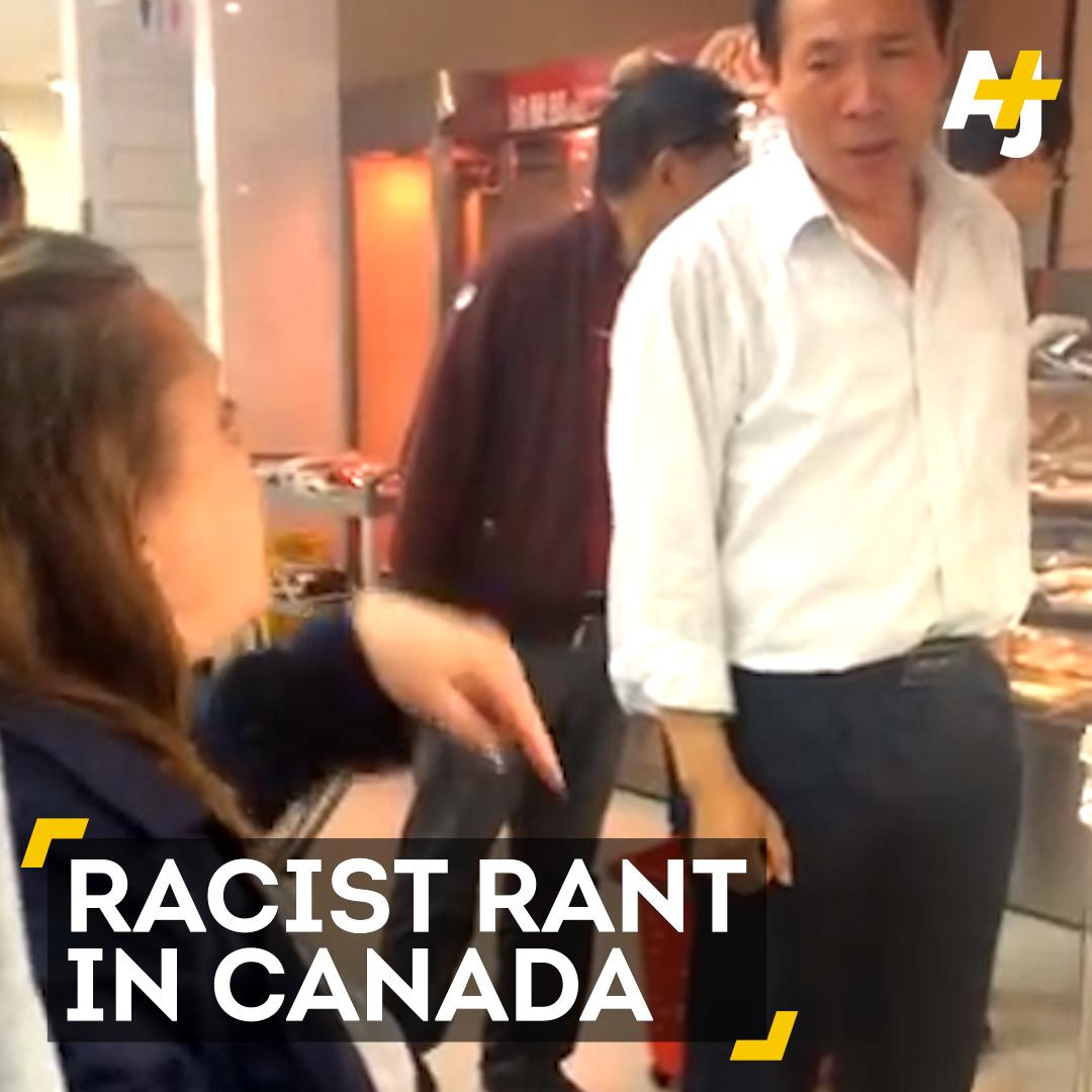 """Go back to China!"" Yet another racist rant."