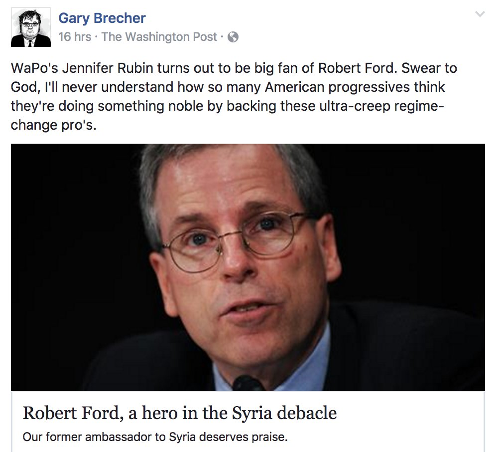 ... Robert Ford... https://www.washingtonpost.com/blogs/right-turn/wp/2014/06/10/robert-ford-a-hero-in-the-syria-debacle/?tid=ss_fb&utm_term=.b55aa3586635  … ...