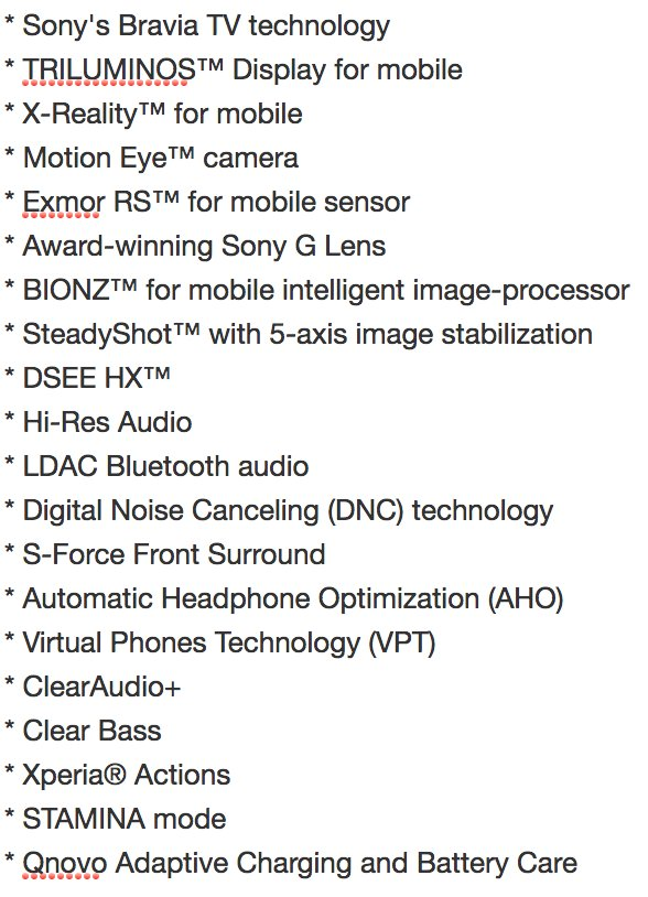 The number of distinct brands and Sony-created jargon in use for a single Sony phone is … ridiculous https://t.co/asHTjXG4fq