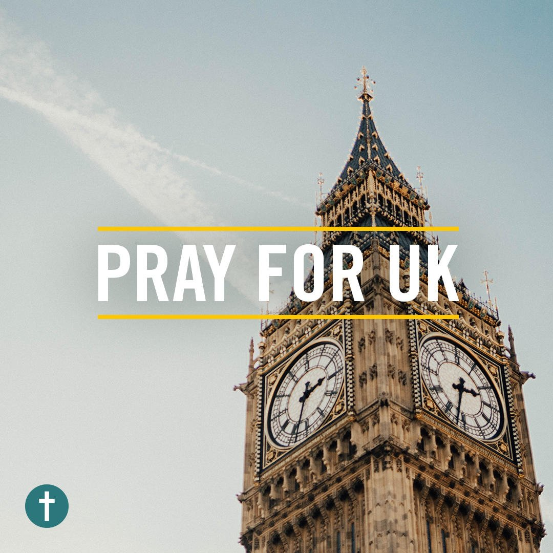Our prayers are with the people of the U...