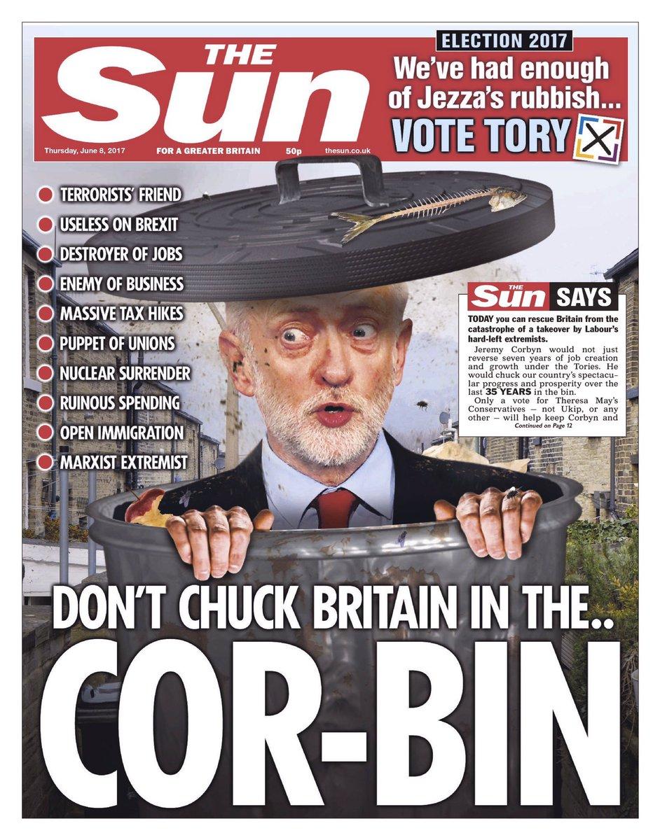 Je moet een beetje tussen de regels door lezen maar dan zie je wel dat The Sun een lichte voorkeur heeft voor May. https://t.co/zOK4qDskA3