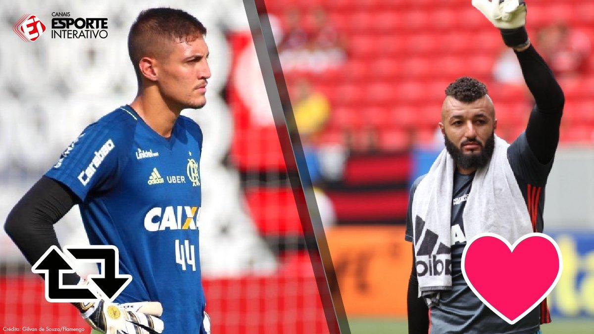 Após as falhas de Muralha, quem você escolheria para ser titular do @Flamengo na próxima rodada?