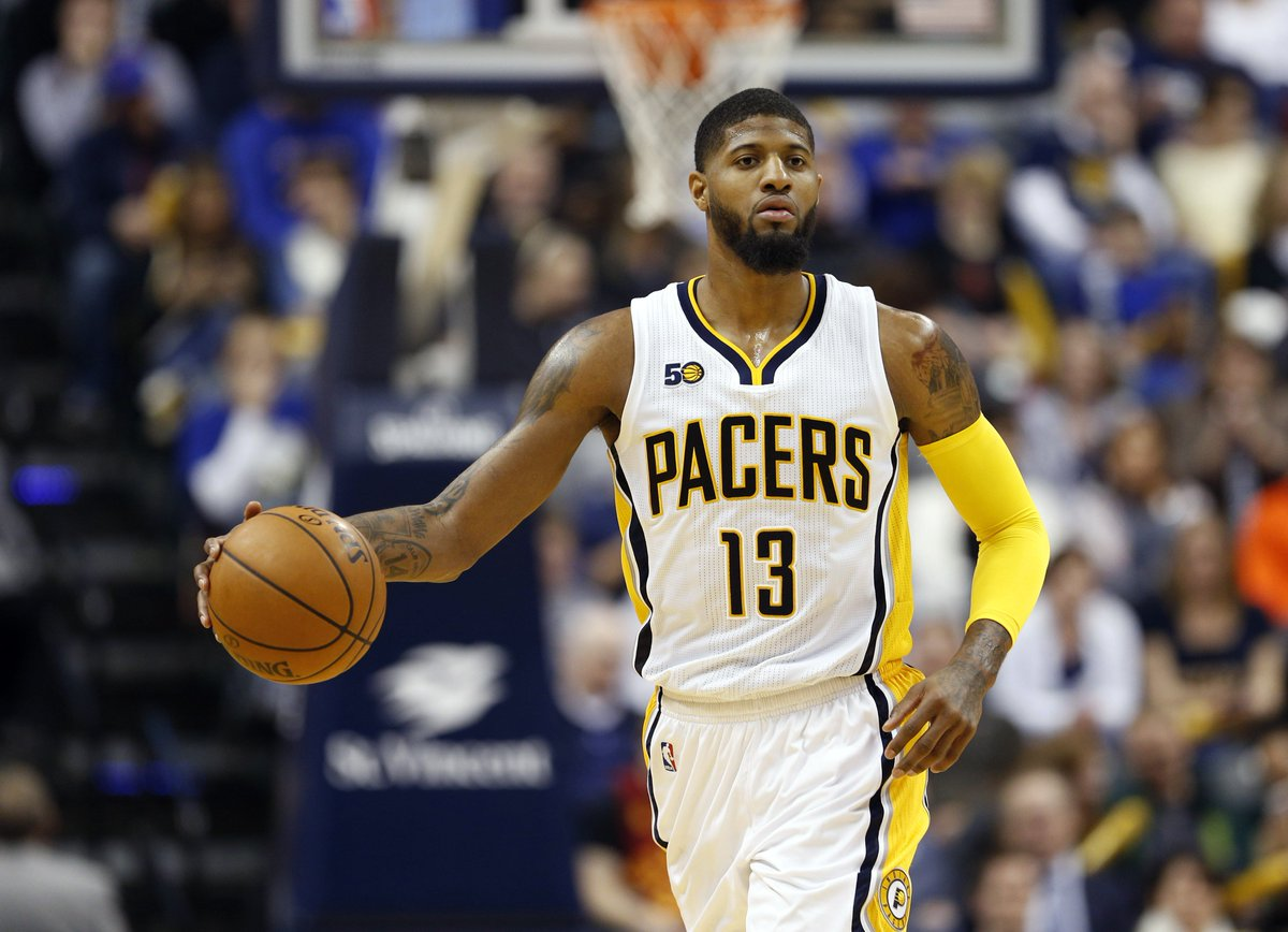 2a32f2f9a0f Paul George reportedly set to leave the Pacers in 2018