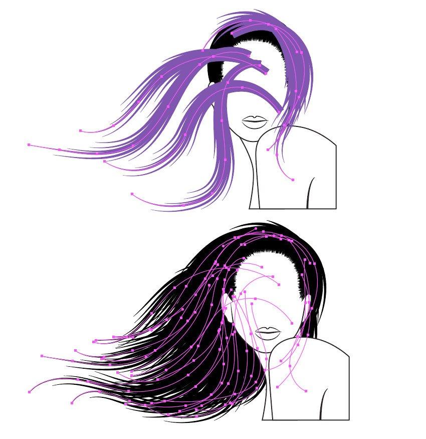 Adobe Illustrator On Twitter Always Dreamed Of Luscious Hair