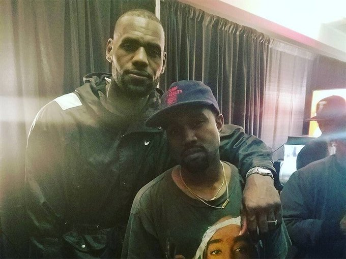 3 goats in one picture ... one just so happens to have a birthday today ... happy birthday Kanye West