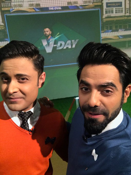 It's all about @imVkohli today on @StarSportsIndia #vday @anant174 https://t.co/oZ5r1cpYBA