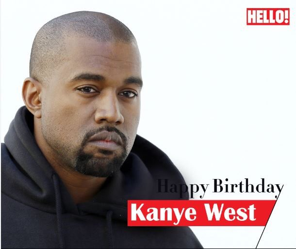 HELLO! wishes Kanye West a very Happy Birthday