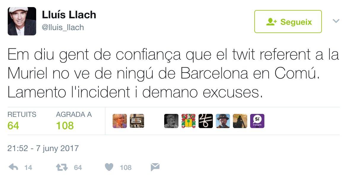 Aquest twitt de @lluis_llach ens hauria de convidar a una reflexió sobre com nous mitjans online fan les noticies. https://t.co/e8EQmc14kD