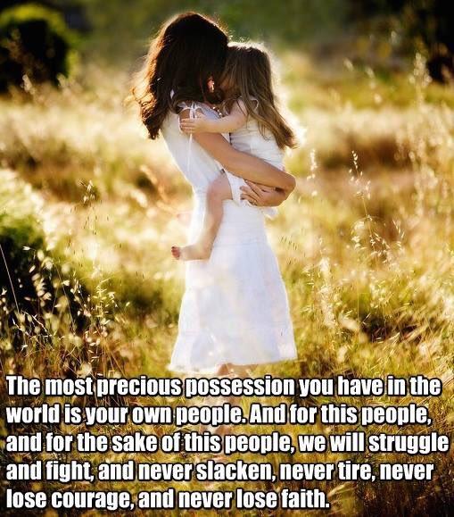 the most precious possession