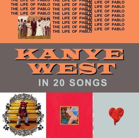 Happy 40th Birthday Kanye West! Here\s 20 of his massive hits