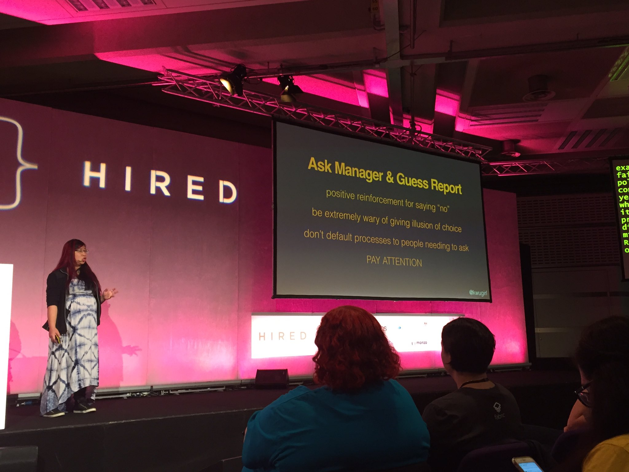 Great talk from @kwugirl this slide specifically is super useful to me.  #leaddev https://t.co/gxTP7NX1Z1