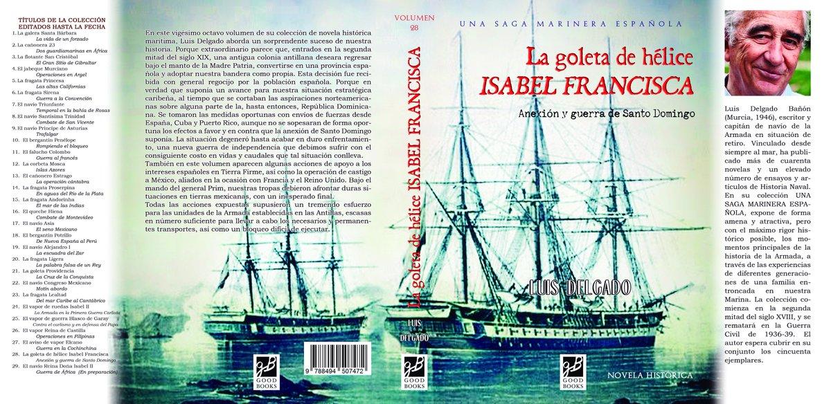 Resultat d'imatges de la goleta de elice isabel y francisca libro
