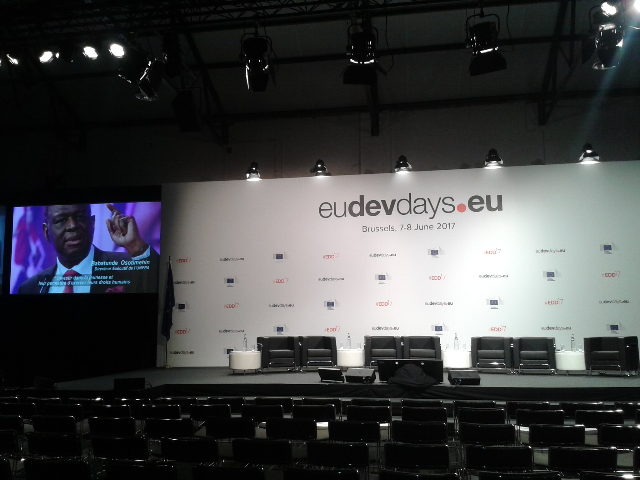 Our panel at #EDD17 starts with honouring the legacy of @BabatundeUNFPA as champion for empowerment of women & girls https://t.co/gGImlVXIlg