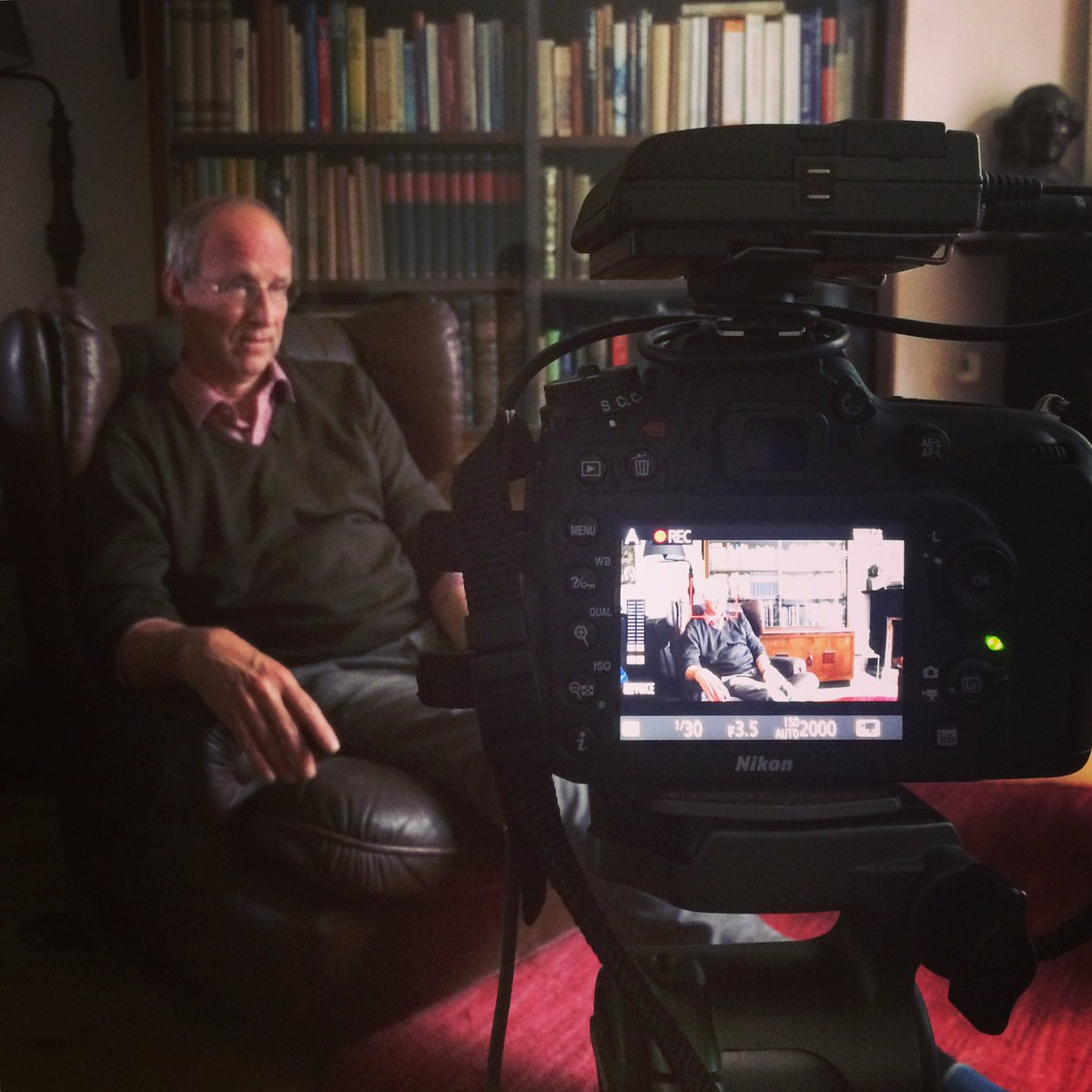 [NETHERLANDS] Yesterday, we interviewed Prof. Bert de Vries from @UtrechtUni  We continue our survey in Amsterdam !  #TREVE #REs #Europe<br>http://pic.twitter.com/9kBf8Nrcmv