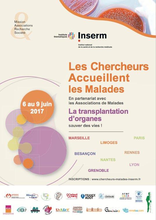 #LesChercheursAccueillentLesMalades C'est parti à Limoges pour la journée Les Chercheurs Accueillent les Malades https://t.co/m0Vrw18Zxi https://t.co/VDibyFm4bf