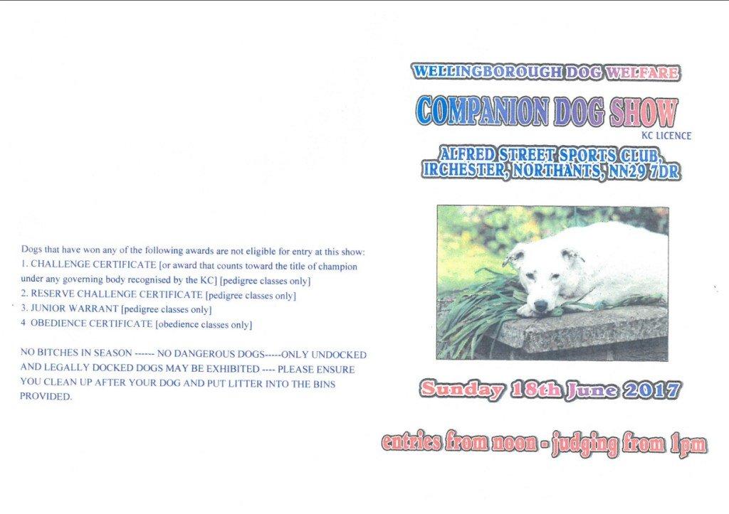 Irchester Dog Show