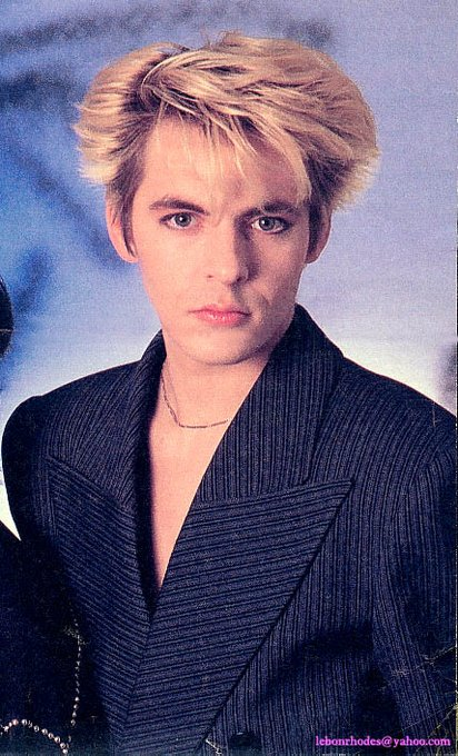 Happy Birthday Nick Rhodes. My hair hero and inspiration for 35 years....