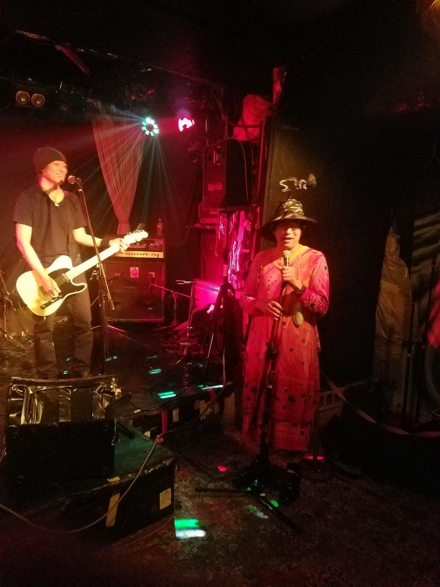 司会アンド辻説法。バンド「1969」企画LIVE。@ヘブンズドア。(2017/06/06)