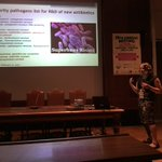 Cassandra Quave presenting keynote: #Ethnobotany and the post-antibiotic era #SEB2017 #AMR #drugdiscovery