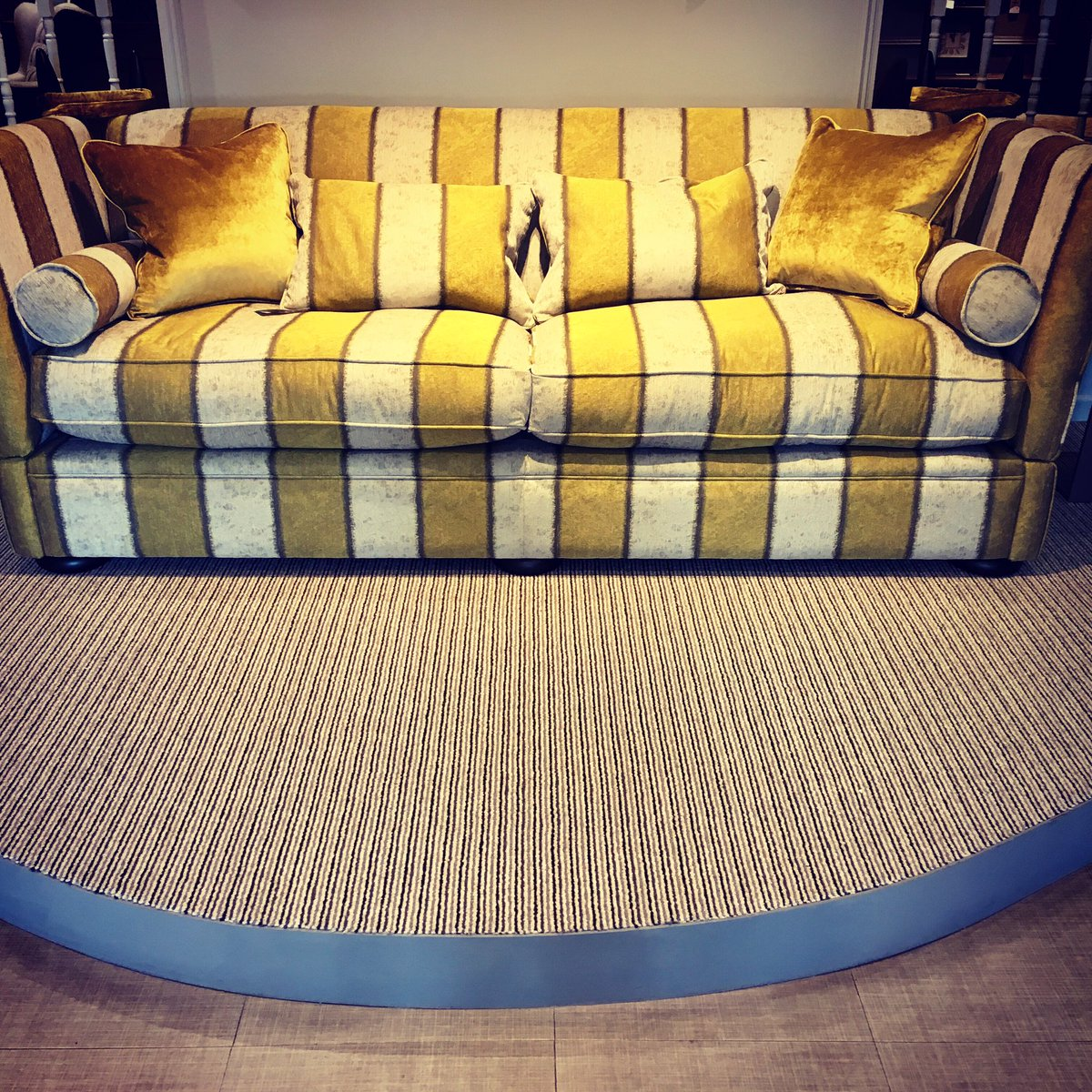 Stunning Carnaby Street Stripe Carpet Made By Riviera Home Uk And Featured At Hatfields Ltd Colchester Essex Decor Interiorpictwitter