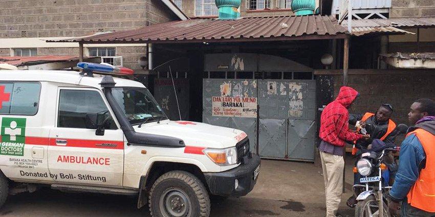 German Doctors-Ärztin Katharina Kropp schildert ihre ersten Eindrücke aus ihrem ehrenamtlichen Einsatz in #Nairobi:https://t.co/qt7CWBYZyW https://t.co/gZvlDzxT0V