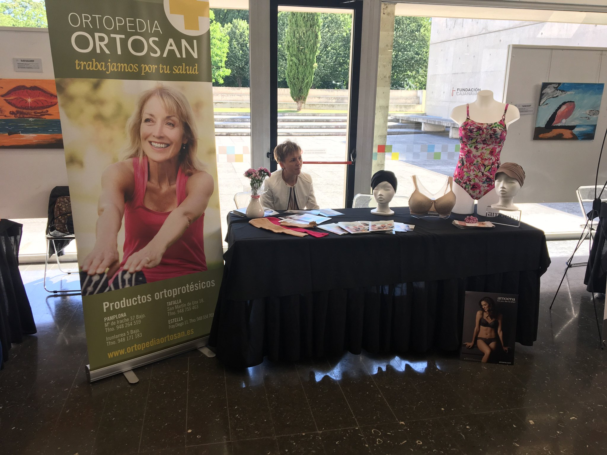 Ortopedía y venta de productos Ortosan. Prótesis mamarias externas, lencería, trajes de baño, etc. #JornadaSaray https://t.co/XdynExpV8l