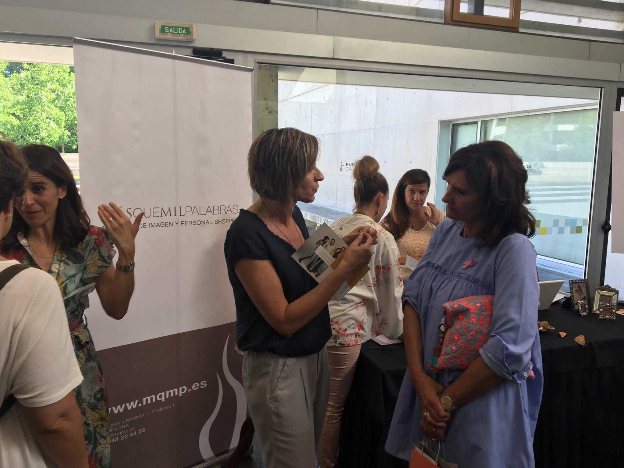 Asesoría de imagen y personal shopper con psicología nutricional en @mqmp #JornadaSaray https://t.co/GN9Z0jO24y