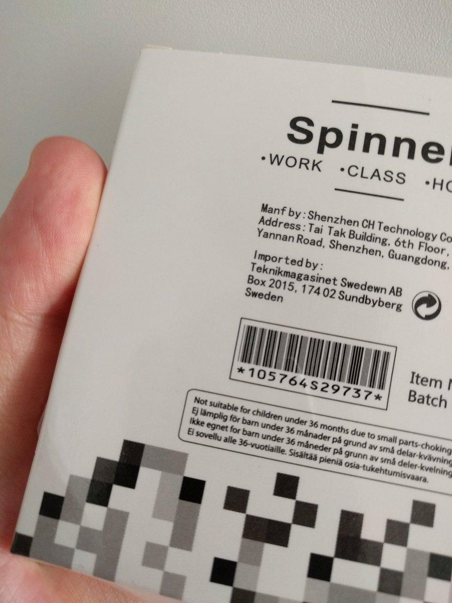 Muistakaa sitten, että #FidgetSpinner ei sovellu alle 36-vuotiaille.