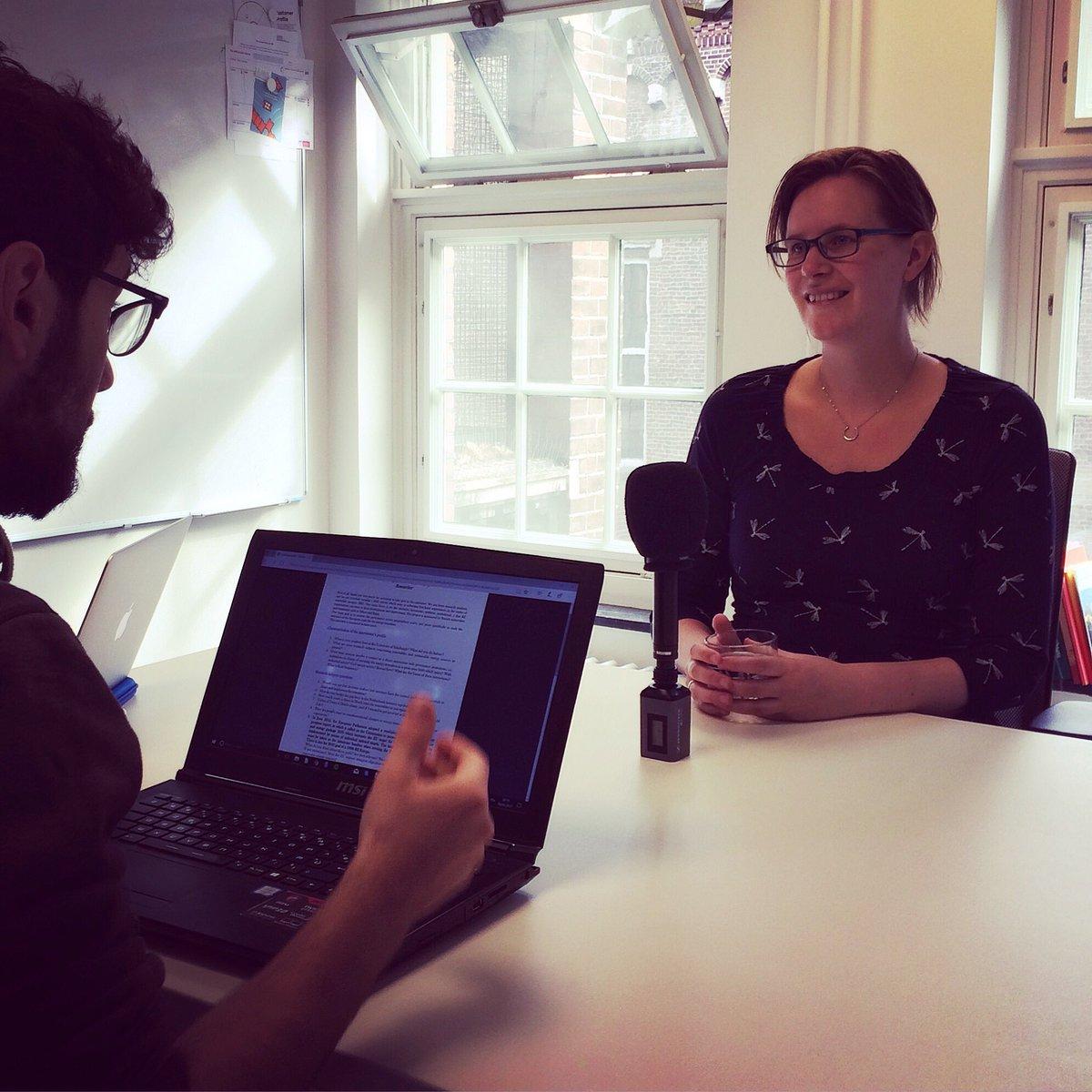[NETHERLANDS] Already back on tracks! This morning, we met Saskia TIMMER, Project Developer at @AMS_institute  #TREVE #Survey #Europe #REs<br>http://pic.twitter.com/JEgqNl8e3H