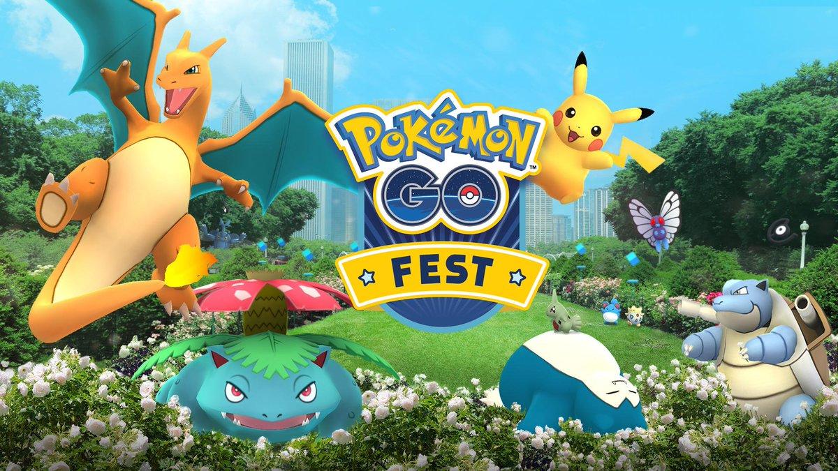 ¿Estás listo para el primer megaevento de Pokémon Go?