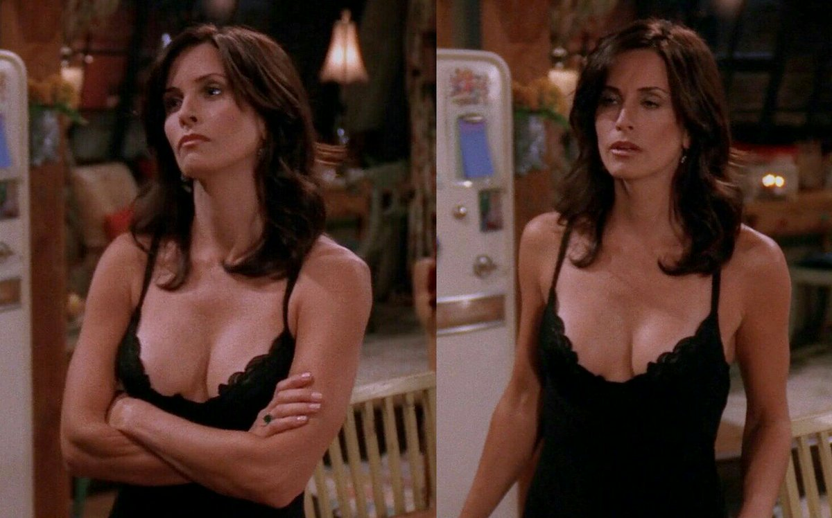 Paulrogers100 On Twitter Courteney Cox  F0 9f 98 8dcleavage Boobs Fit