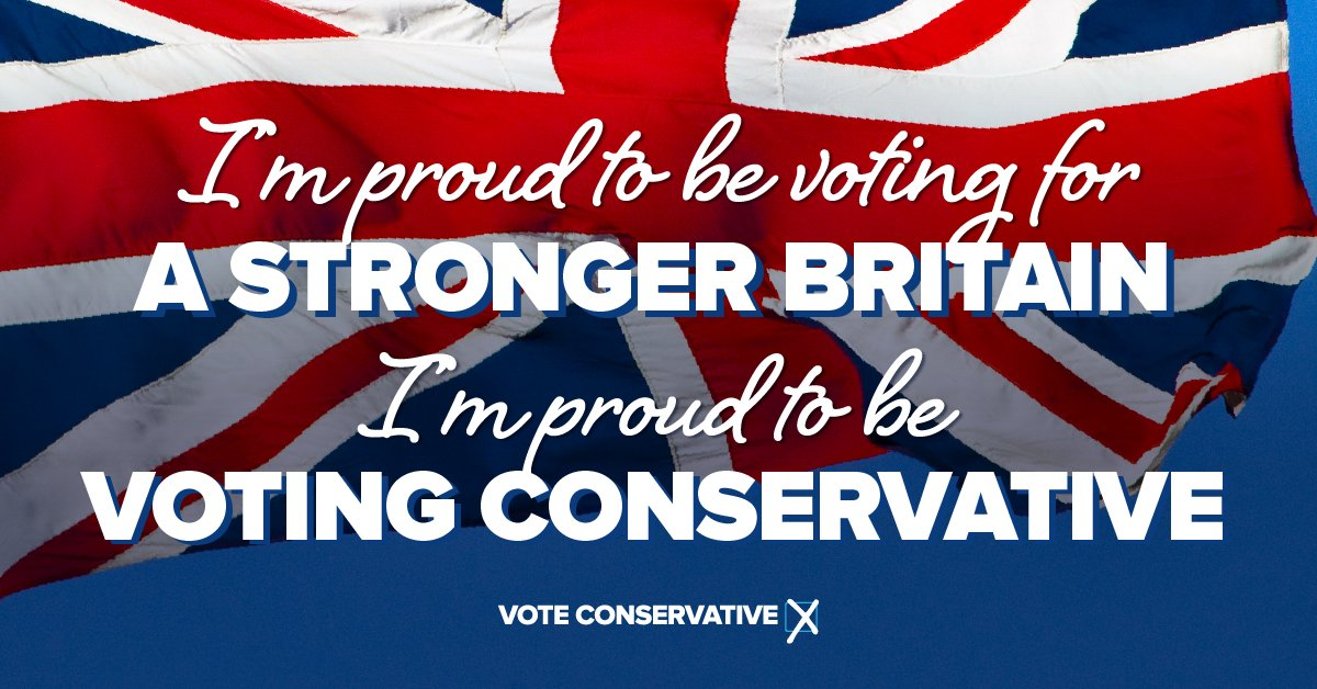 This morning I voted for the @Conservati...