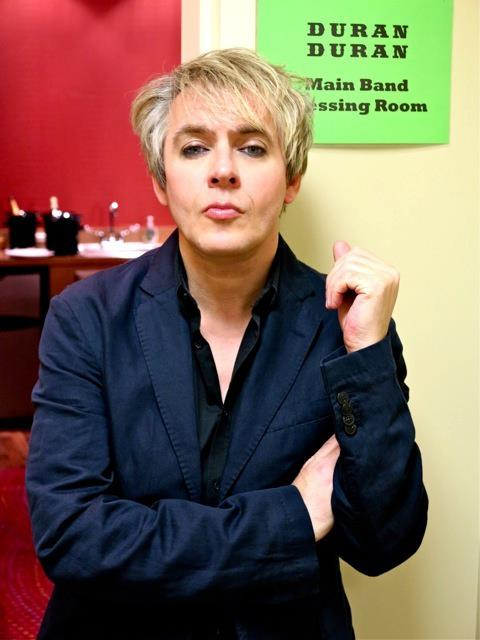 Happy birthday to Nick Rhodes, 55 today :-)