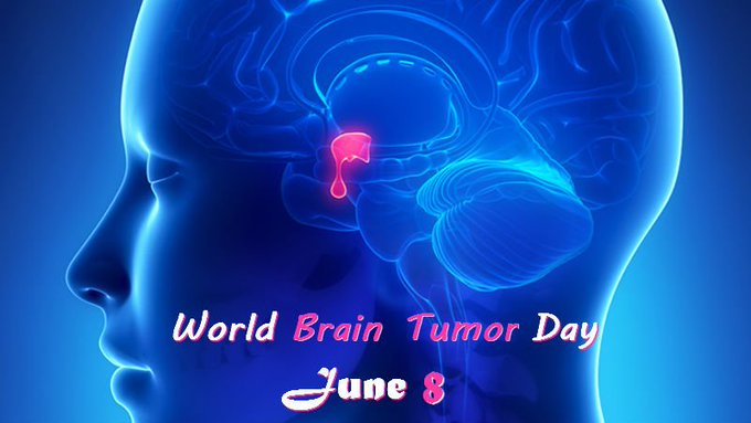 World Brain Tumor Day - 8 June  IMAGES, GIF, ANIMATED GIF, WALLPAPER, STICKER FOR WHATSAPP & FACEBOOK