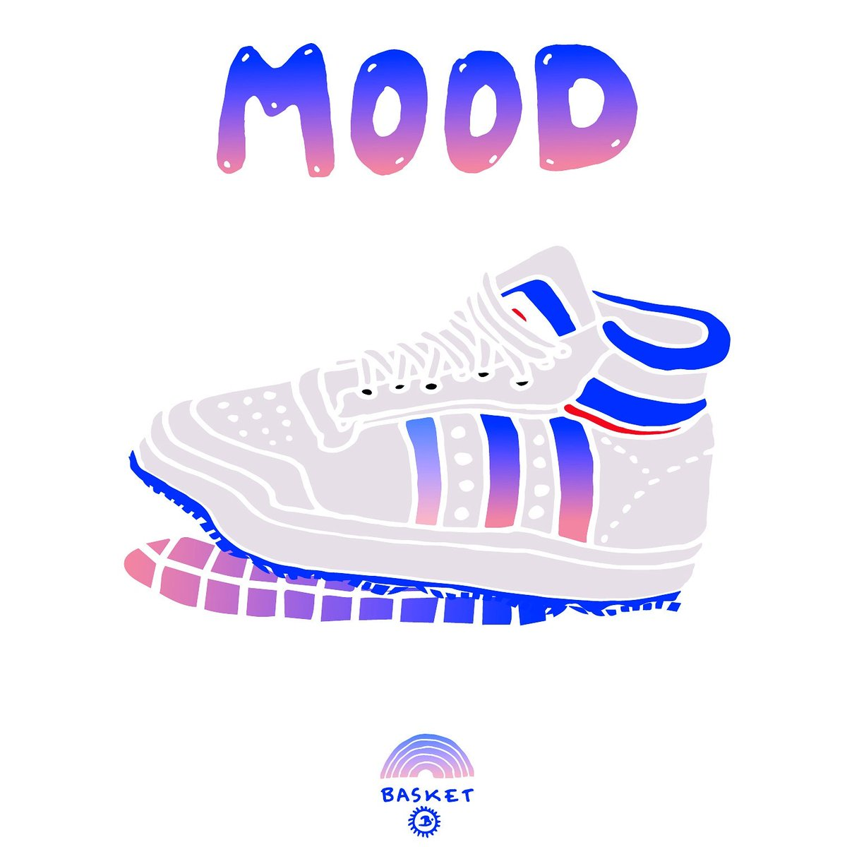 Basket #mood #illustration #sport #run #running #courir #rainbow #urban #summer #boyfriend #basket #adidas #スポーツ<br>http://pic.twitter.com/Nz8tXZymyt
