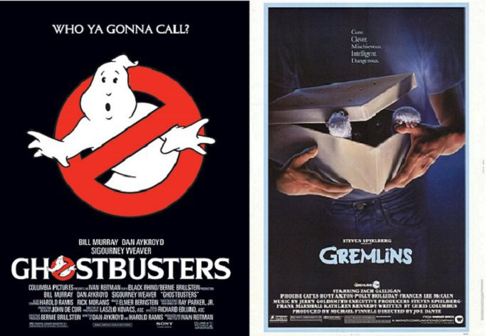 June 8, 1984, both the films Ghostbusters & Gremlins were released in theaters. #80s https://t.co/7fSUOIlV4X