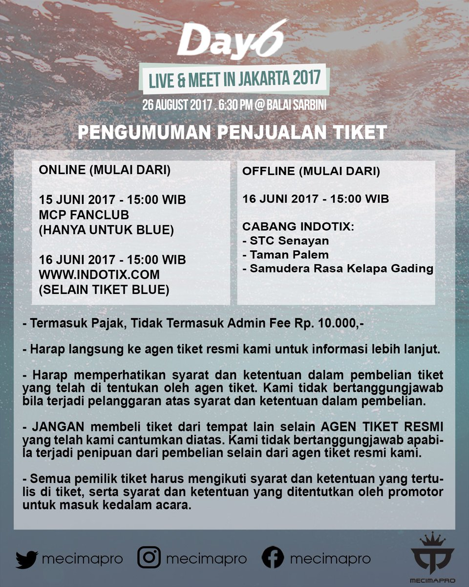 DAY6 Live and Meet in Jakarta 2017(saungkorea.com)