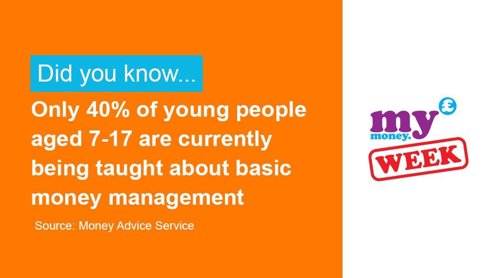 Give your students the chance to gain confidence in money matters. #KS1 #KS2 #KS3 #KS4 #MyMoneyWeek  https://t.co/aJLCUo7far https://t.co/djzziWqW4i