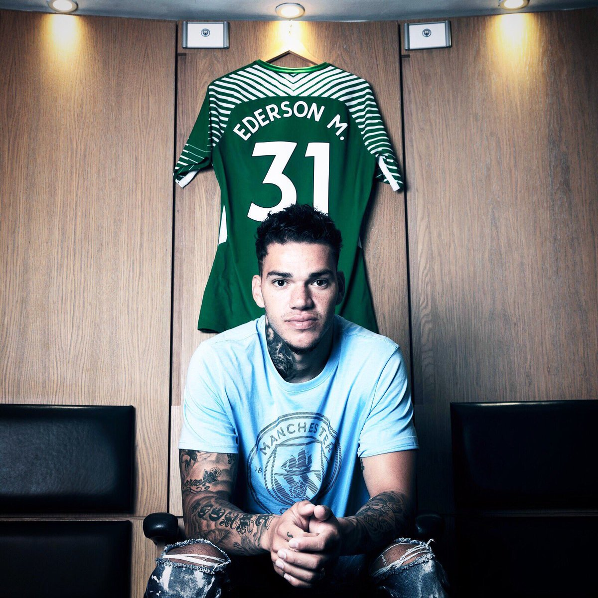 "MCSC Indonesia On Twitter ""OFFICIAL Ederson Moraes Akan"