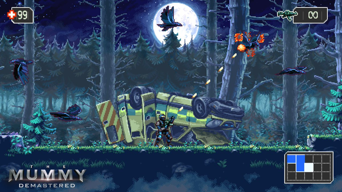 Kill Pixelated Undead In 'The Mummy Demastered'