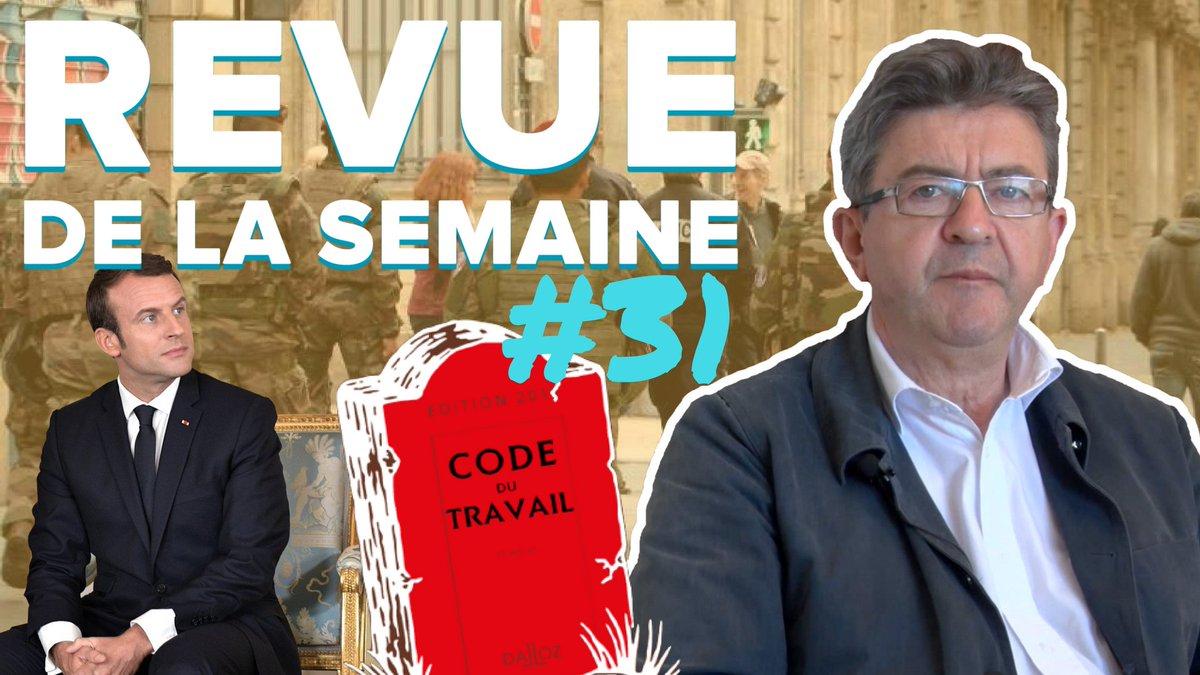 #RDLS31 en ligne ! Thèmes : législatives, code du travail, état d'urgence, ordonnances de #Macron. ➡️ https://t.co/8xo4tlHkIc